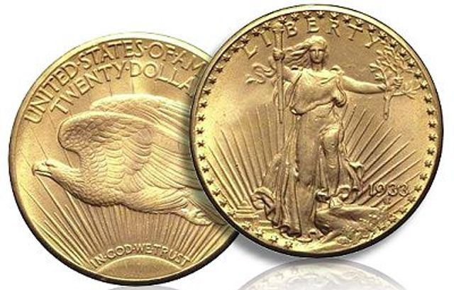 Saint-Gaudens Double Eagle 1933