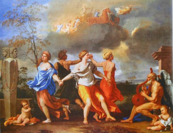 Древнеримские оргии на празднике сатурналии