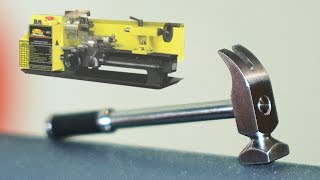 Сделать молоток на токарном станке (DIY / make a hammer on the lathe)