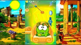 Мультик Игра Ам Ням 🐹 ДРЕВНЯЯ ГРЕЦИЯ 🐲 Om Nom ANCIENT GREECE CARTOON GAME HD